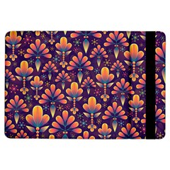 Abstract Background Floral Pattern Ipad Air Flip