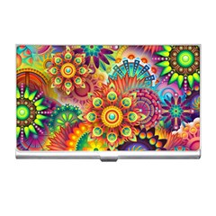 Colorful Abstract Background Colorful Business Card Holders