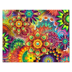 Colorful Abstract Background Colorful Rectangular Jigsaw Puzzl