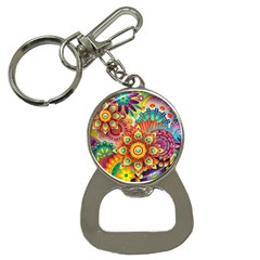 Colorful Abstract Background Colorful Button Necklaces