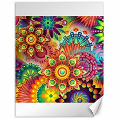 Colorful Abstract Background Colorful Canvas 12  X 16