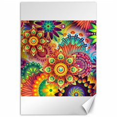 Colorful Abstract Background Colorful Canvas 24  X 36