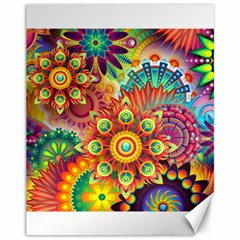 Colorful Abstract Background Colorful Canvas 11  X 14