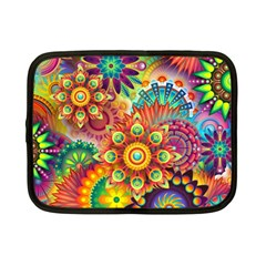 Colorful Abstract Background Colorful Netbook Case (small)