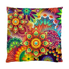 Colorful Abstract Background Colorful Standard Cushion Case (two Sides)