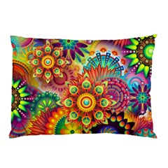 Colorful Abstract Background Colorful Pillow Case