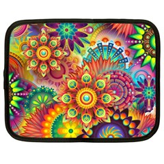 Colorful Abstract Background Colorful Netbook Case (xxl)