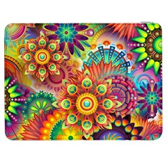 Colorful Abstract Background Colorful Samsung Galaxy Tab 7  P1000 Flip Case