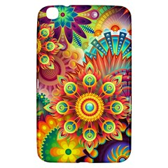 Colorful Abstract Background Colorful Samsung Galaxy Tab 3 (8 ) T3100 Hardshell Case