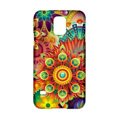 Colorful Abstract Background Colorful Samsung Galaxy S5 Hardshell Case