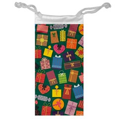 Presents Gifts Background Colorful Jewelry Bag