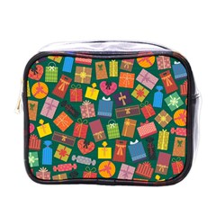 Presents Gifts Background Colorful Mini Toiletries Bags