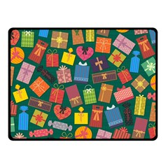 Presents Gifts Background Colorful Fleece Blanket (small)