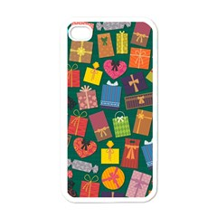 Presents Gifts Background Colorful Apple Iphone 4 Case (white)