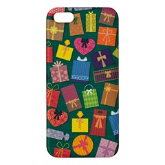 Presents Gifts Background Colorful Apple Iphone 5 Premium Hardshell Case