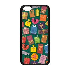 Presents Gifts Background Colorful Apple Iphone 5c Seamless Case (black)