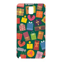 Presents Gifts Background Colorful Samsung Galaxy Note 3 N9005 Hardshell Back Case