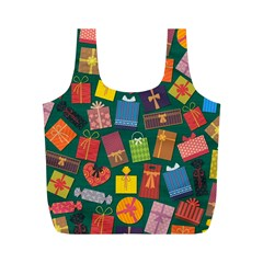 Presents Gifts Background Colorful Full Print Recycle Bags (m)