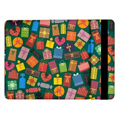 Presents Gifts Background Colorful Samsung Galaxy Tab Pro 12 2  Flip Case