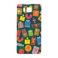 Presents Gifts Background Colorful Samsung Galaxy Alpha Hardshell Back Case
