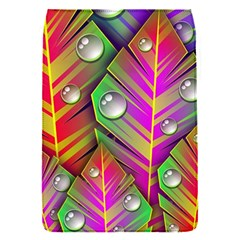 Abstract Background Colorful Leaves Flap Covers (s)
