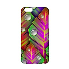 Abstract Background Colorful Leaves Apple Iphone 6/6s Hardshell Case