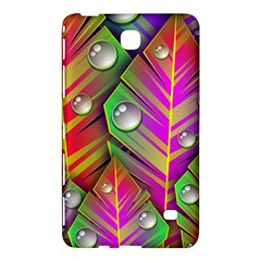Abstract Background Colorful Leaves Samsung Galaxy Tab 4 (8 ) Hardshell Case