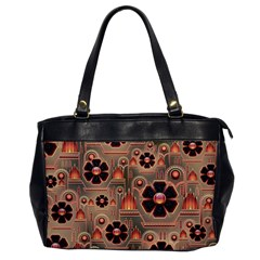Background Floral Flower Stylised Office Handbags