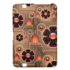 Background Floral Flower Stylised Kindle Fire Hd 8 9