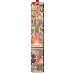 Background Floral Flower Stylised Large Book Marks