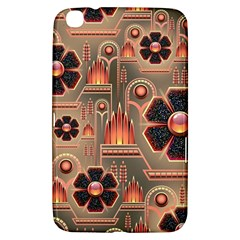 Background Floral Flower Stylised Samsung Galaxy Tab 3 (8 ) T3100 Hardshell Case