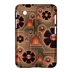 Background Floral Flower Stylised Samsung Galaxy Tab 2 (7 ) P3100 Hardshell Case