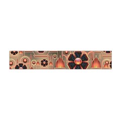 Background Floral Flower Stylised Flano Scarf (mini)