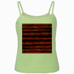 Colorful Abstract Background Strands Green Spaghetti Tank