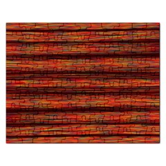 Colorful Abstract Background Strands Rectangular Jigsaw Puzzl