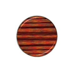 Colorful Abstract Background Strands Hat Clip Ball Marker (10 Pack)