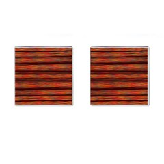 Colorful Abstract Background Strands Cufflinks (square)