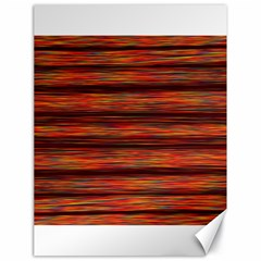 Colorful Abstract Background Strands Canvas 18  X 24