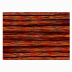 Colorful Abstract Background Strands Large Glasses Cloth (2 Side)