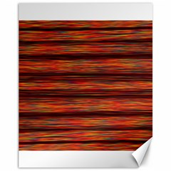 Colorful Abstract Background Strands Canvas 11  X 14