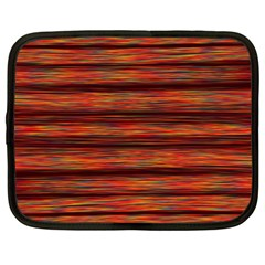 Colorful Abstract Background Strands Netbook Case (large)