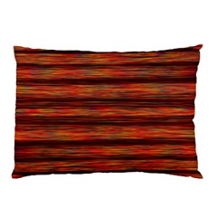 Colorful Abstract Background Strands Pillow Case
