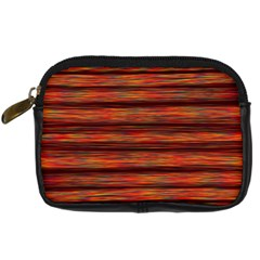 Colorful Abstract Background Strands Digital Camera Cases