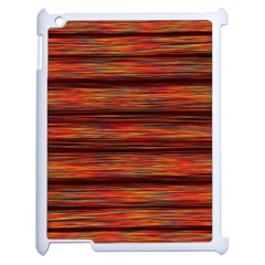 Colorful Abstract Background Strands Apple Ipad 2 Case (white)