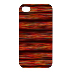 Colorful Abstract Background Strands Apple Iphone 4/4s Hardshell Case