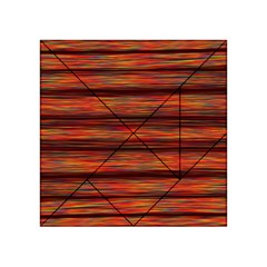 Colorful Abstract Background Strands Acrylic Tangram Puzzle (4  X 4 )