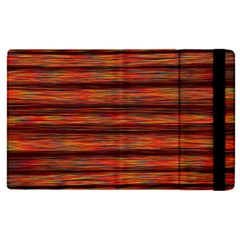 Colorful Abstract Background Strands Apple Ipad 3/4 Flip Case