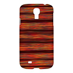 Colorful Abstract Background Strands Samsung Galaxy S4 I9500/i9505 Hardshell Case