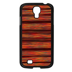 Colorful Abstract Background Strands Samsung Galaxy S4 I9500/ I9505 Case (black)
