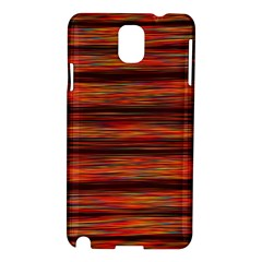 Colorful Abstract Background Strands Samsung Galaxy Note 3 N9005 Hardshell Case